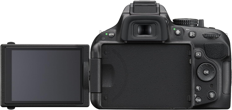 Nikon D5200 - Cámara réflex digital de 24.1 Mp (pantalla 3