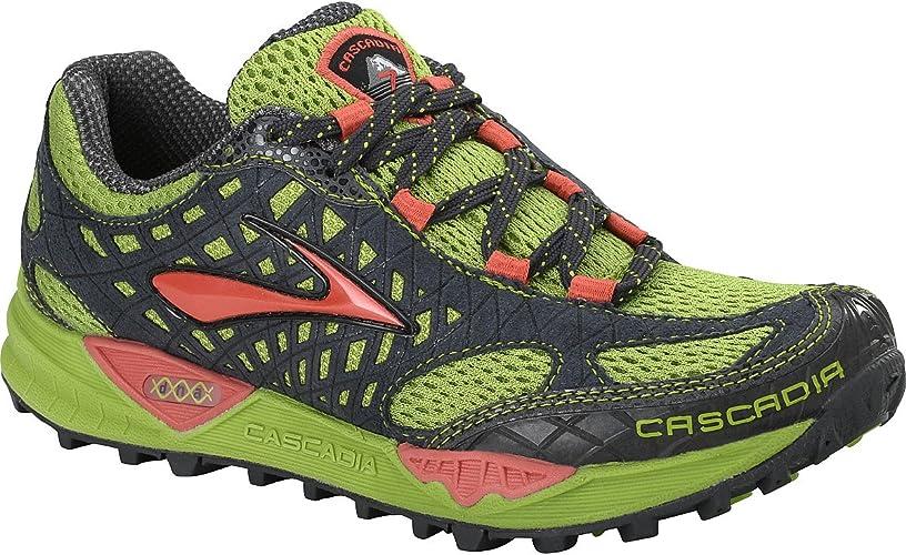 Brooks Cascadia7 W - Zapatillas de Running para Mujer, Color Verde ...