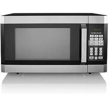 amazon com hamilton beach 1 6 cu ft digital microwave oven rh amazon com hamilton beach microwave 1000 watts instructions Hamilton Beach Microwave Problems