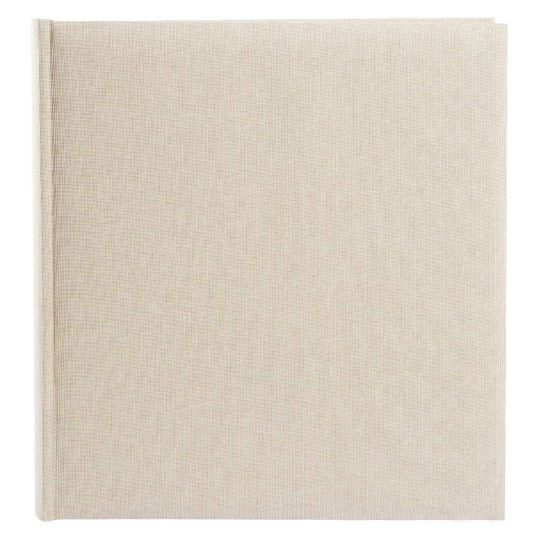 Goldbuch álbum de Fotos, Summer Time 31 Trend 2, 30 x 31 Time cm, 100 páginas Blancas con pergamino de separadores, Lino, Beige, 31605 6354fd