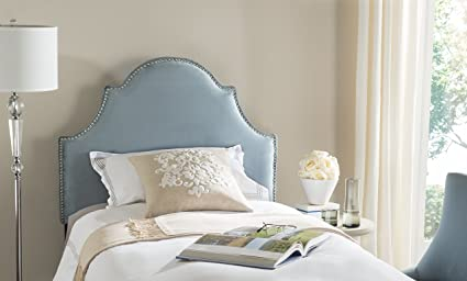 Merveilleux Safavieh Mercer Collection Hallmar Arched Twin Sized Headboard, Wedgewood  Blue