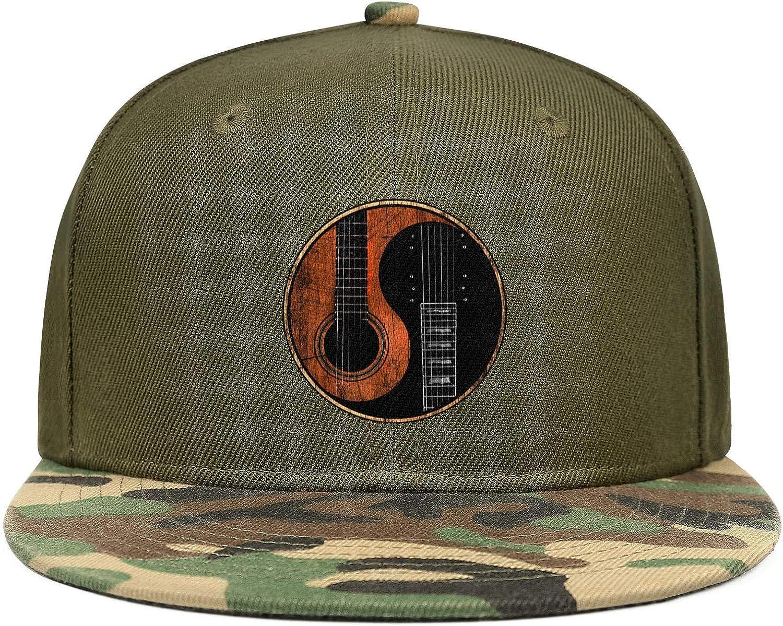 Yin Yang Restoring Ancient Ways Guitar Unisex Baseball Cap Quick Dry Sport Baseball Hats Adjustable Trucker Caps Dad-Hat