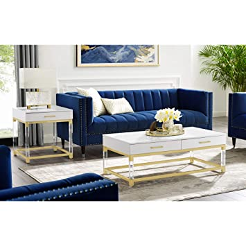 Amazon.com: Inspired Home Cassandra - Juego de muebles de ...