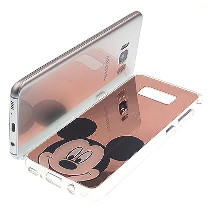 premium selection 1306b 53416 Amazon.com: Galaxy S7 Case Disney Cute Mickey Mouse Glitter Mirror ...