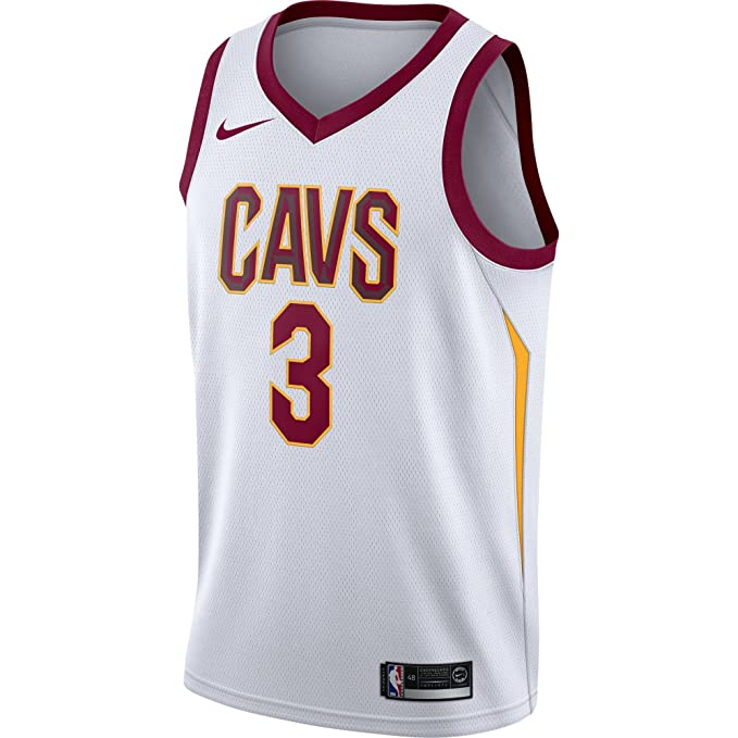 Nike NBA Cleveland Cavaliers Isaiah Thomas 3 2017 2018 Association Edition Jersey Oficial Home, Camiseta