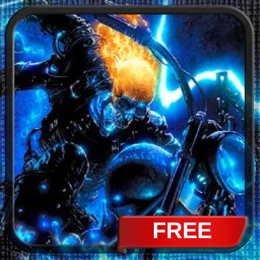 Lightning Ghost Rider Live Wallpaper Free Animated Theme Background (Best Animated Backgrounds Android)