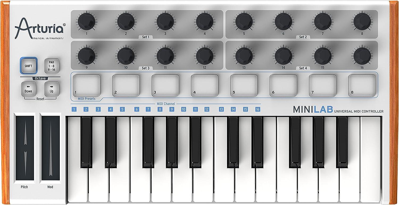 Arturia Minilab - Controlador MIDI (USB, 25 teclas)