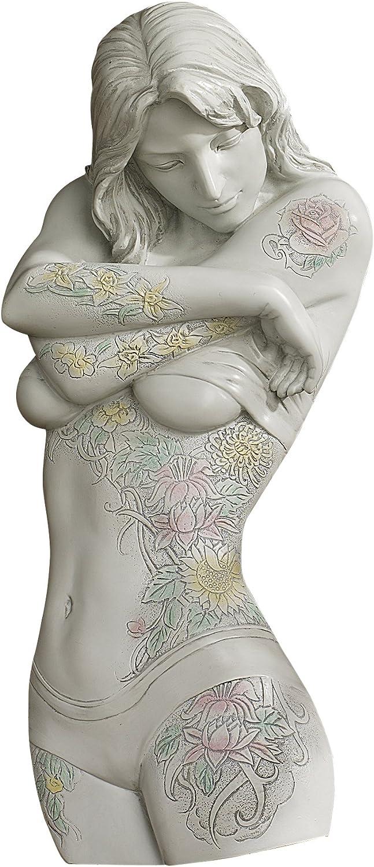 Design Toscano Tattoo Temptation Floral Seduction Wall Sculpture Collection