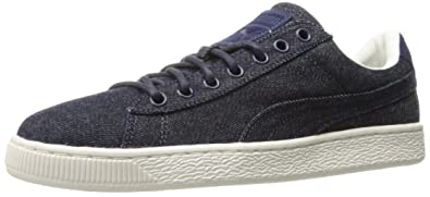 newest collection 10ef4 5b5d5 PUMA Basket Classic Denim Fashion Sneaker