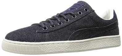 newest collection ca660 e4525 PUMA Basket Classic Denim Fashion Sneaker