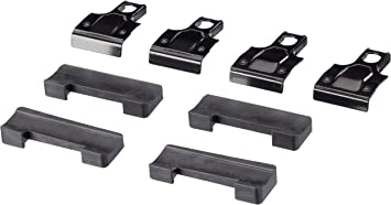 Compatibile con Piedi per Barre Portatutto 750 Kit di Montaggio per Rapid System Thule 1266