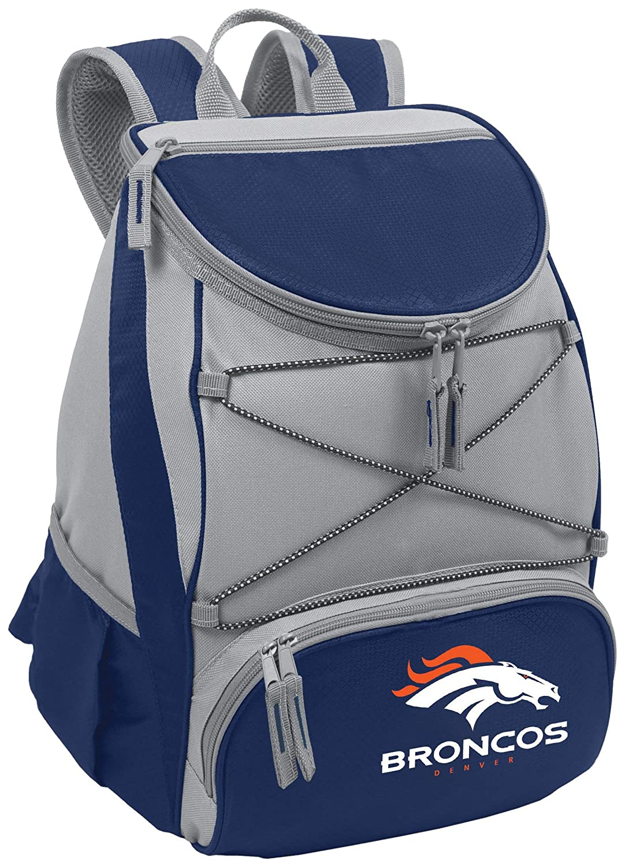 NFL Denver Broncos PTX Insulated Backpack Cooler, Navy [並行輸入品] B07R3Z24FH