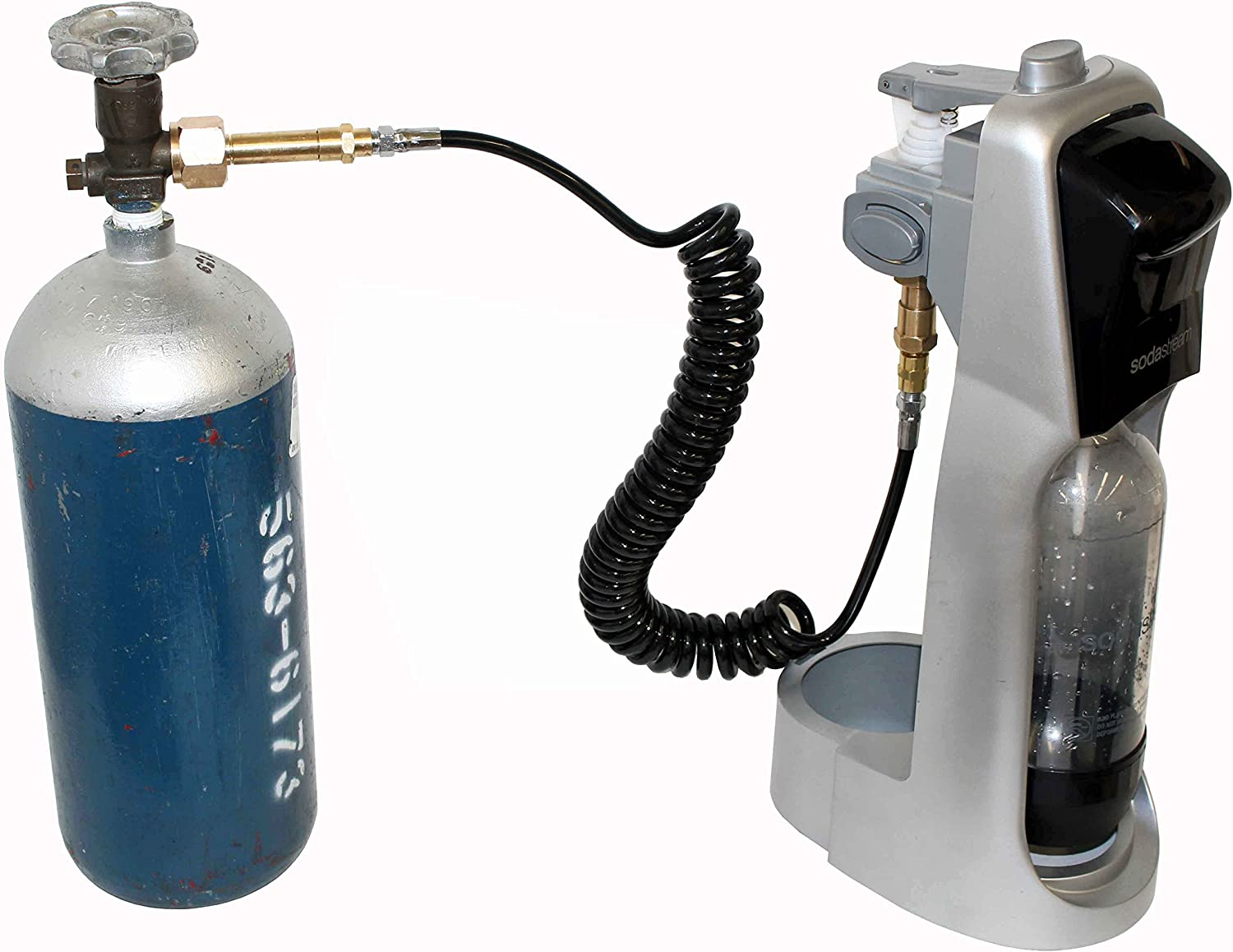 seltzer Water Home Machine Accessories. Trinity CGA-320 CO2 External Tank Coil System for Soda Maker