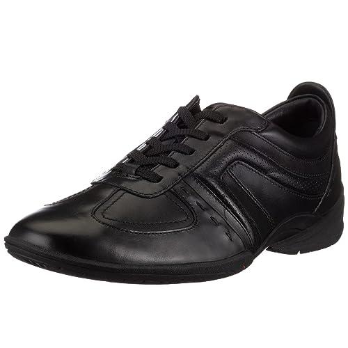 Vor kurzem Schwarz Halbschuhe Gr 43 Clarks Sneaker