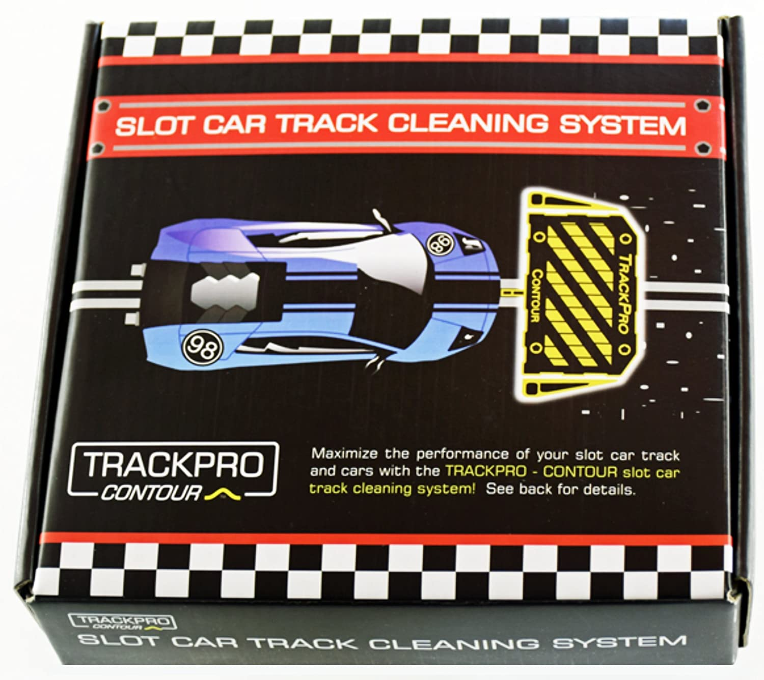 Trackpro Contour Slot Car Track Cleaning System By
