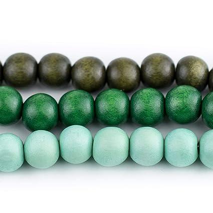 Wood Round Beads Natural  12mm 16 Inch Strand