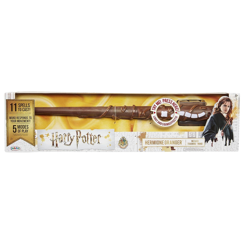 Jakks Pacific 73210Assistant de Fonction de Harry Potter Hermione Baguette pour Femme, Multicolore