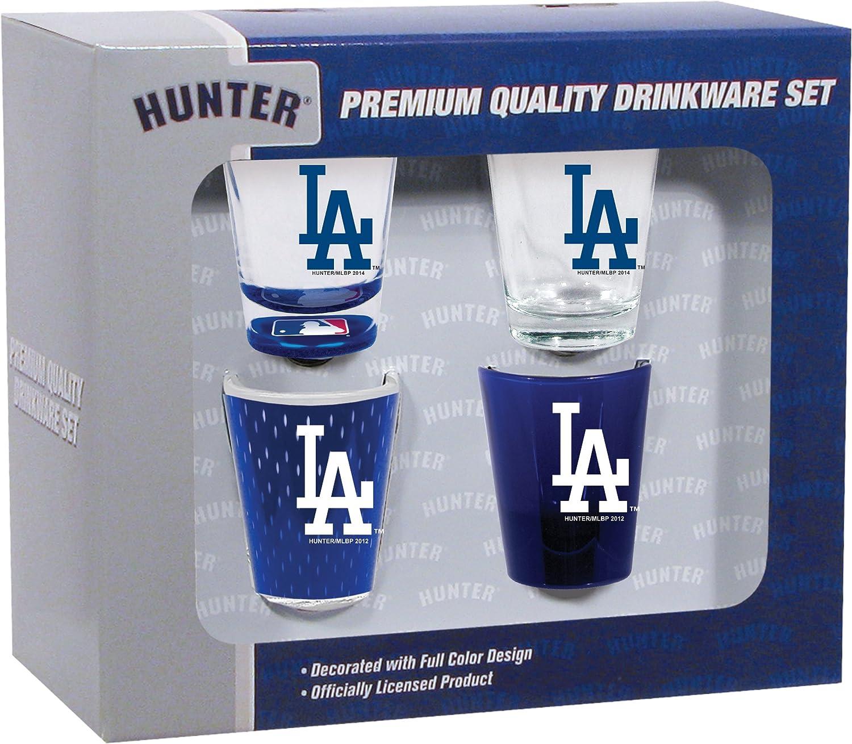 Hunter Manufacturing MLB Los Angeles Dodgers Shot Glass