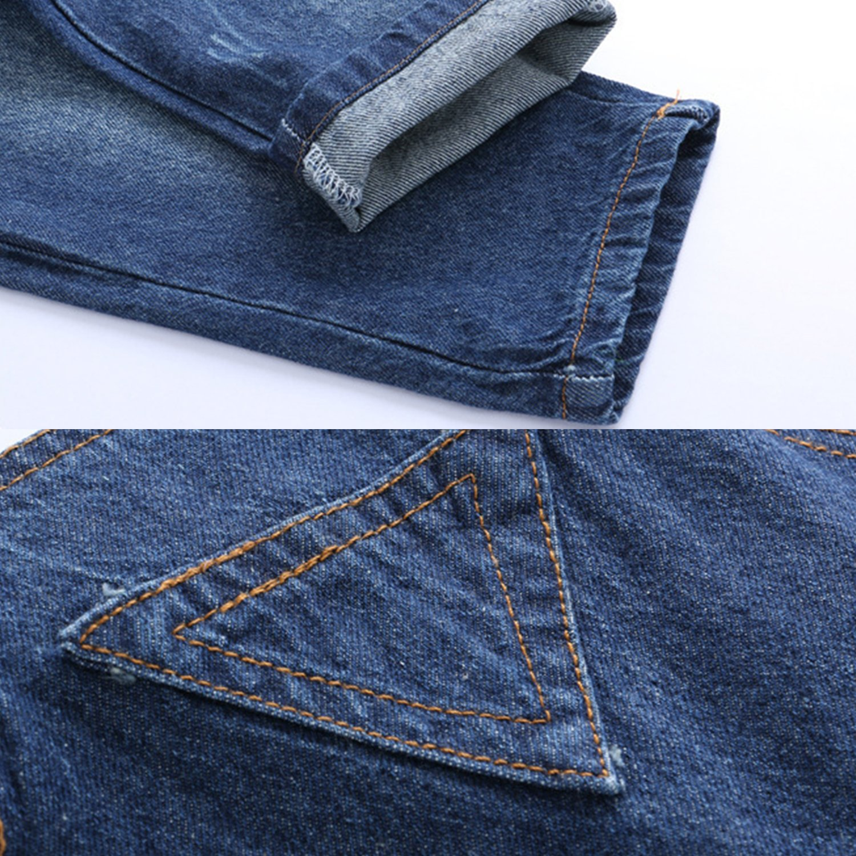 Evelin LEE Toddler Baby Boys Girls Denim Bib Overalls Jumpsuits Pants Dungarees
