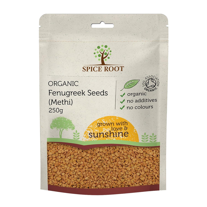 Semillas de Fenugreco Orgánico 250g (Bio Fenugreek Seeds, Methi ...