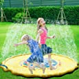 子供 プール プレイマット ウォーター プレイ アウトドア 芝生遊び 水 夏の日 子供用 おもちゃ 噴水マット ふんすい 庭 家庭用 キッズ 水遊び 噴水池 噴水できる大型プール 3#