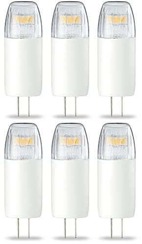 AmazonBasics Bombilla LED Cápsula G4, 1.8W (equivalente a 20W), Blanco Cálido