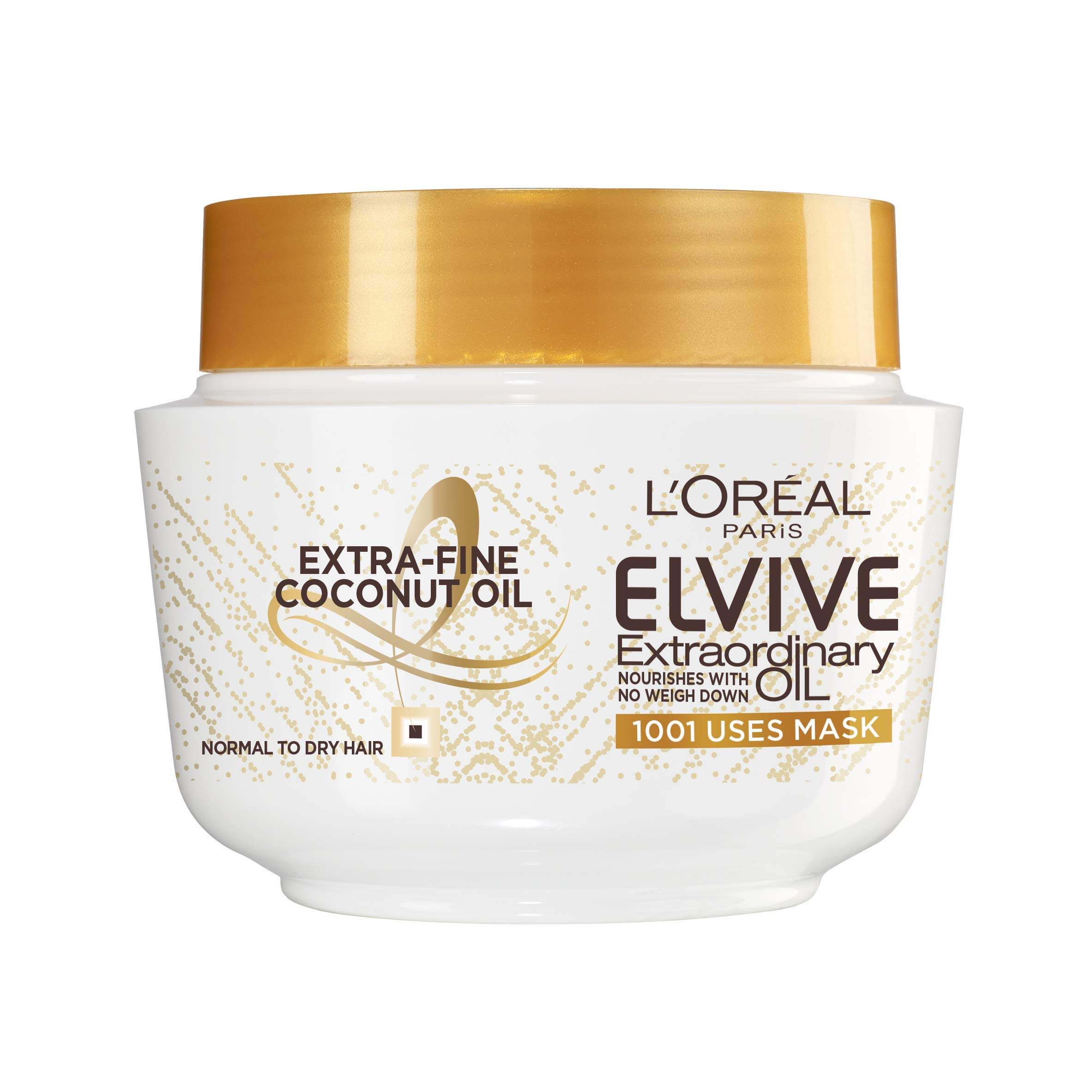 L'Oréal Elvive Extraordinary Oil Coconut Hair Mask Leave-in Conditioner for Normal to Dry Hair 300ml