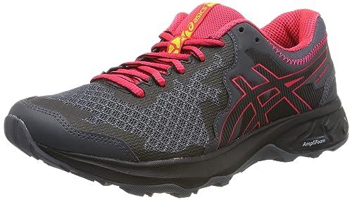 Dettagli su ASICS Uomo Gel Sonoma 3 Trail Scarpe da Ginnastica Corsa Sneakers Nero Arancione