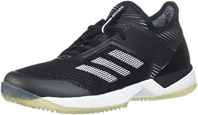 check out 7767e 30e33 adidas Women s Adizero Ubersonic 3 w Clay Tennis Shoe, White core Black, 5
