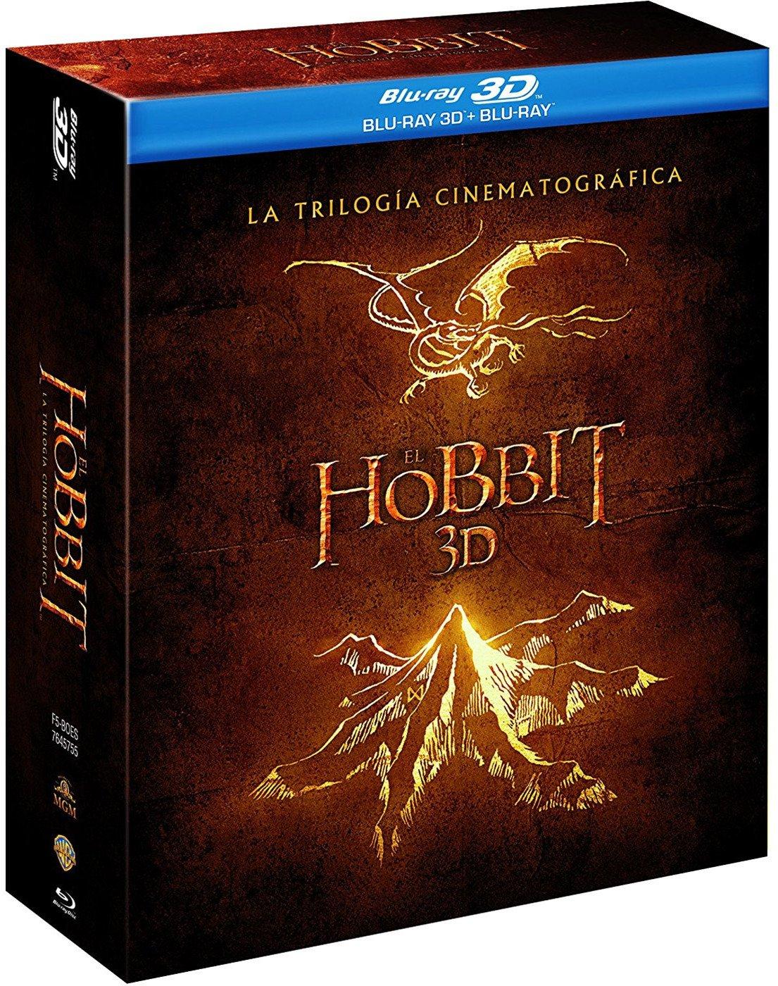 El Hobbit Trilogia Blu-Ray 3d [Blu-ray]: Amazon.es: Martin Freeman ...
