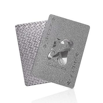 SolarMatrix Diamante Negro Poker de Plástico Resistente al ...