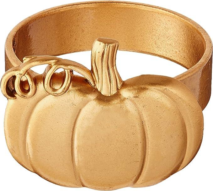 Gold Kate Aspen 11306NA Pumpkin Bottle Opener