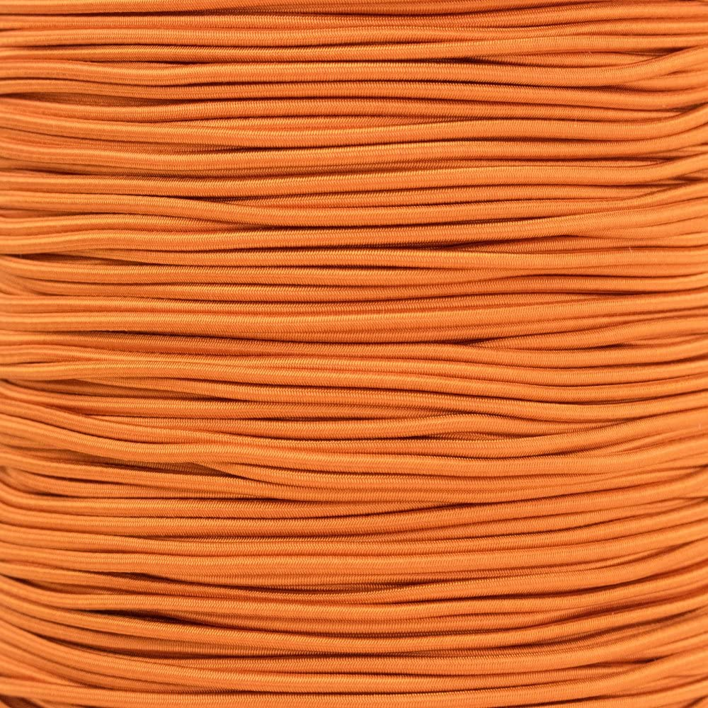 """1//4 1//2 inch Crafting Stretch String 10 25 50 /& 100 Foot Lengths Made in USA 3//16 PARACORD PLANET Elastic Bungee Nylon Shock Cord 2.5mm 1//32 5//16 1//16 3//8 5//8 1//8/"""""""