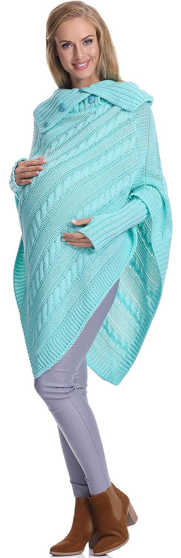 Be Mammy Suéter Premamá para Mujer Noemi One Size)