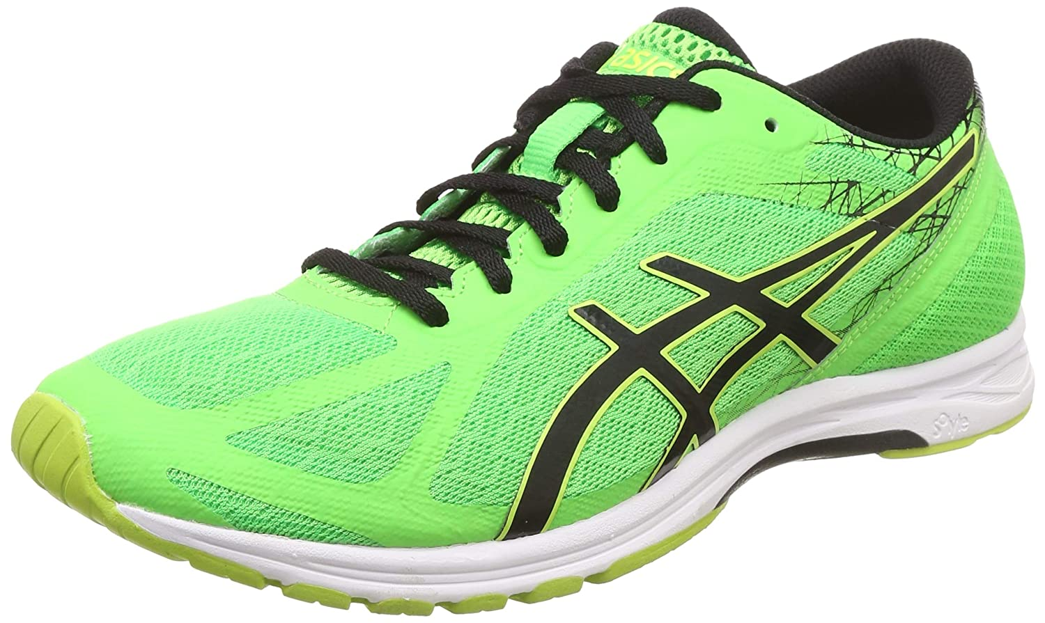 atmósfera No lo hagas Relación  Buy ASICS Men's Gel-DS Racer 11 Gecko/Black/Safety Yellow Running Shoes - 9  UK/India (44 EU)(10 US) at Amazon.in