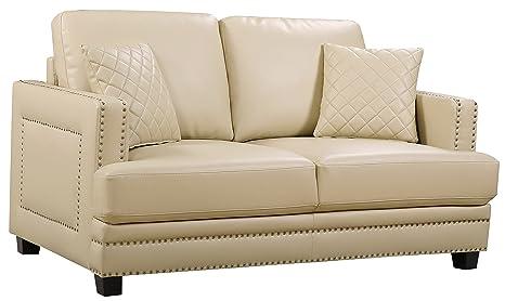 Meridian Furniture Ferrara Collection Love Seats, 62
