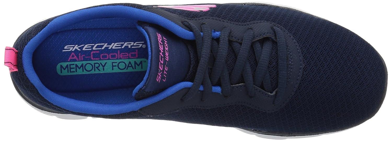 Skechers Damen Flex Blau Appeal 2.0-Newsmaker Sneaker Blau Flex (Navy/Weiss) 87f1c9