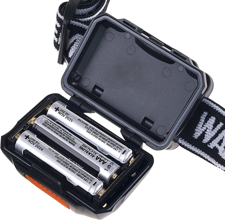 Lightweight with 80 Lumen and COB Bulbs Black Wakeman 75-HL1000 LED 4 Mode Headlamp