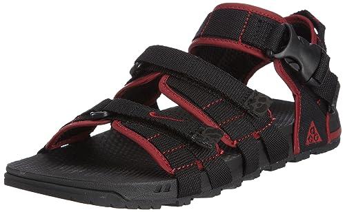 b428798c2e26 Nike Men s Air Deschutz Black Sandals and Floaters -11 UK India (46 ...