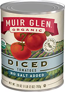 product image for Muir Glen Organic Diced Tomatoes No Salt, 28 oz