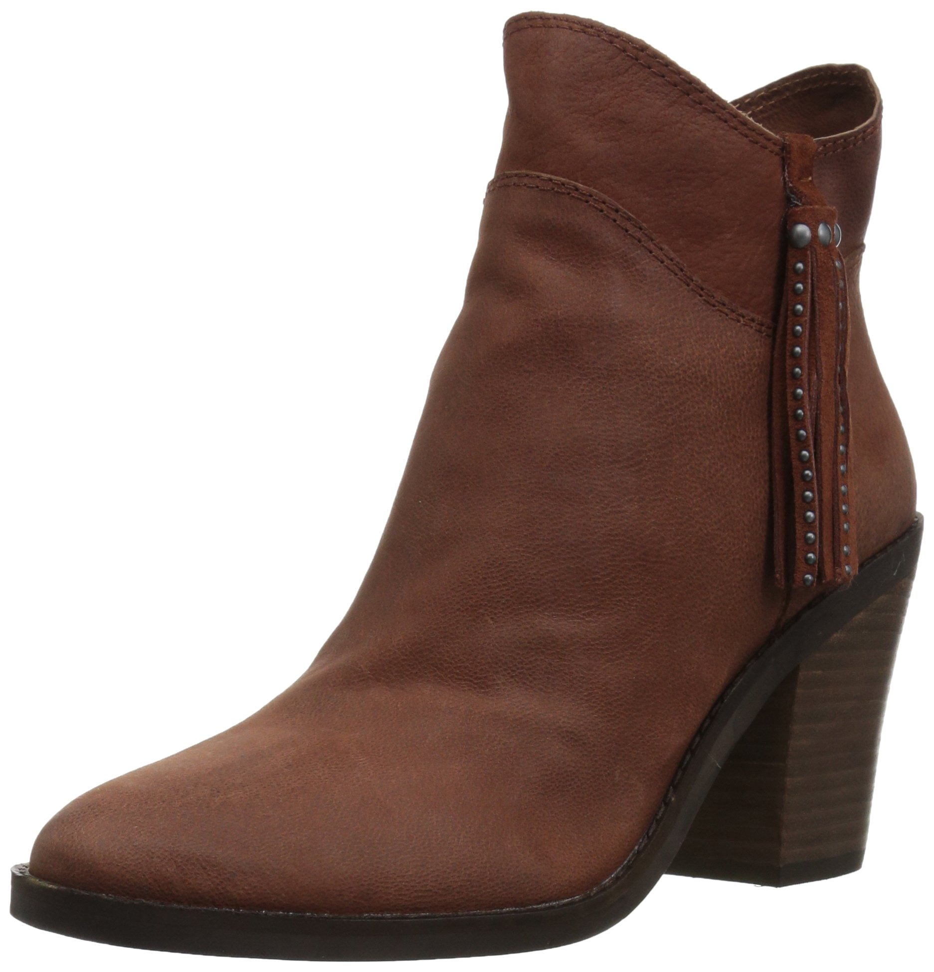 Lucky Brand Women's Pavel Ankle Boot, Rye, 8.5 Medium US