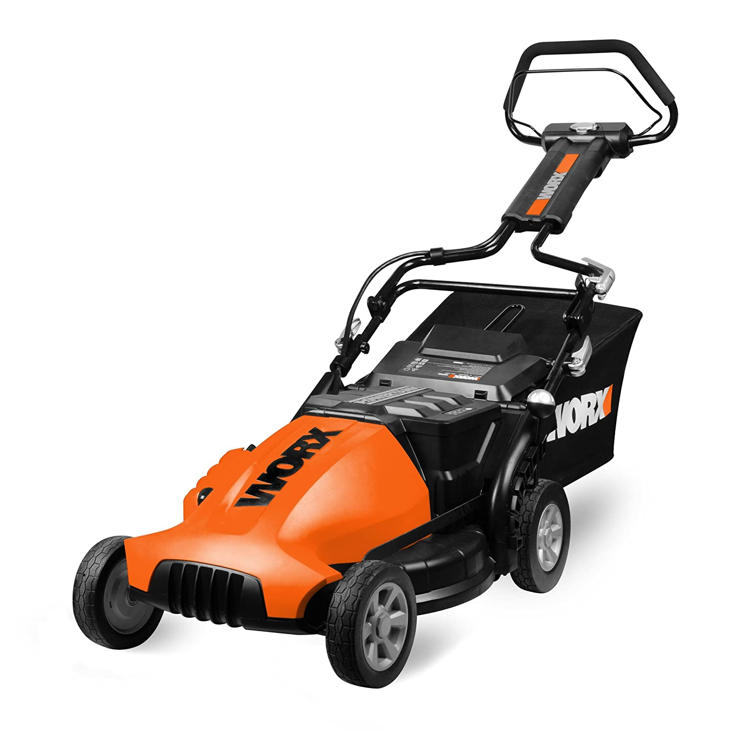 WORX ECO WG780 19-Inch 24-Volt Cordless Electric Lawn Mower Review