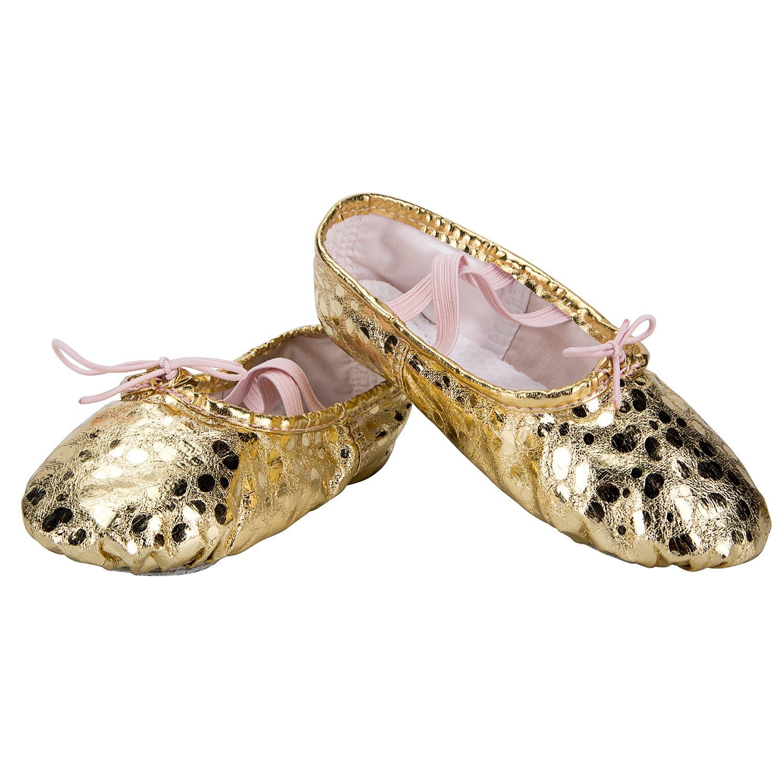 Women//Big Kid//Little Kid//Toddler WOBAOS Ballet Slippers Dance Gymnastics Yoga Shoes Flats for Girls