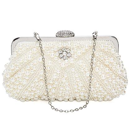 Damen Diamant Clutch Tasche Ring Cocktail Party Handtasche Braut Portemonnaie
