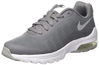 low priced 0b40e fd87d Nike Air Max Invigor Print, Baskets garçon, Gris (Cool Wolf Grey-Anthracite