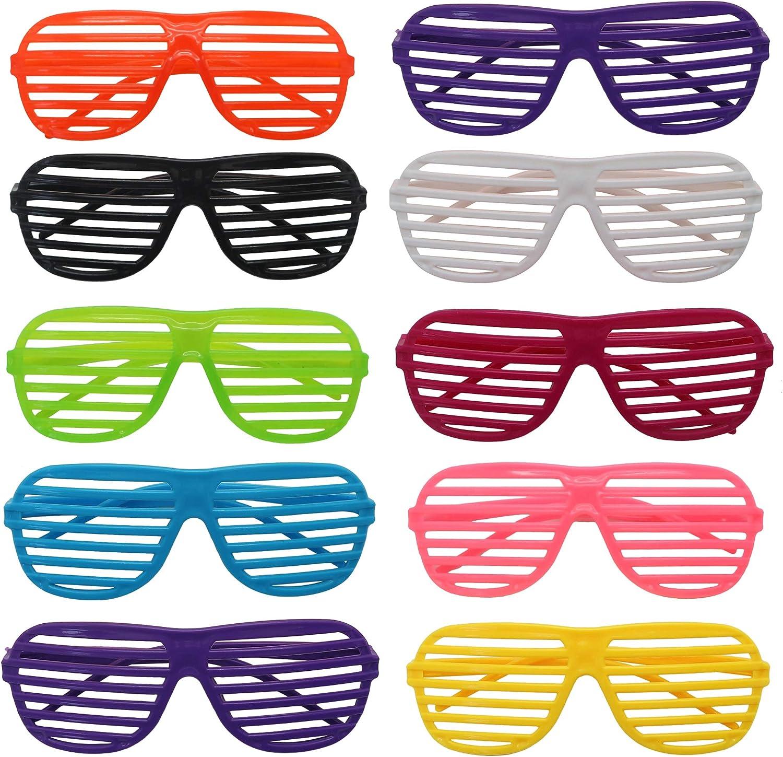 The Twiddlers 25 Gafas De Sol De Persiana Para Granel Fiestas De Juguete Gafas De Sol Disfraz Gafas De Persiana Para Fiesta Disfraces - Rellenos Para Bolsas De Fiesta - Regalos De Cumpleaños