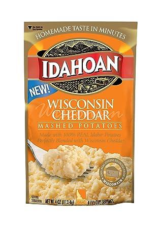 Idahoan Wisconsin Cheddar – Patatas de champán, fabricadas ...