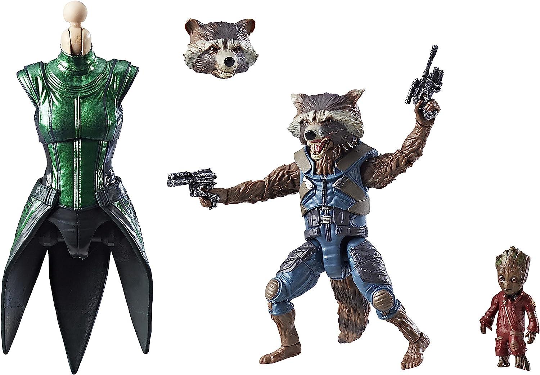 Marvel Figura de acción de Rocket, de Guardianes de la Galaxia ...