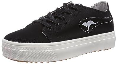 Damen Plateau Sneakers 90s Style Sportschuhe Freizeit Damen Sneakers Schwarz Total 37 Jennika a2JE5RqUH