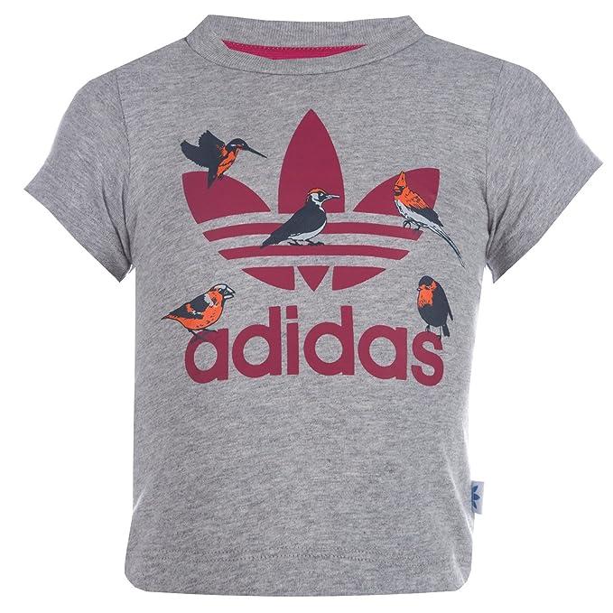 Abbigliamento Canotta Originals Grigio Amazon Ragazza Adidas it 5qPvW6Ywn 17f54273e442